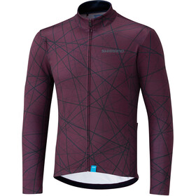 Shimano Team LS Jersey Men red